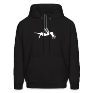 Hoodies ~ Men's Hoodie ~ Swinging Girl