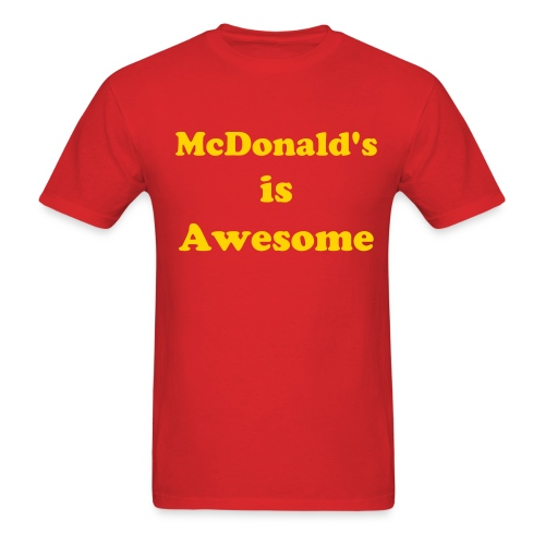 McDonald's - Men's T-Shirt