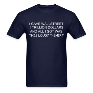 ECONOMIC CRISIS - Men's T-Shirt
