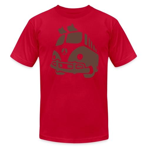 Surf Bus - Men's Fine Jersey T-Shirt