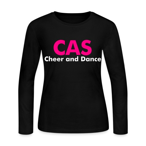 CAS Cheer and Dance - Women's Long Sleeve Jersey T-Shirt