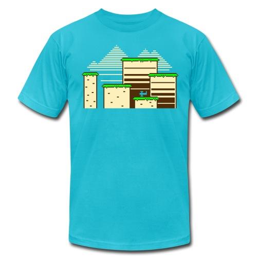 8-Bit Wonderland - Men's Fine Jersey T-Shirt