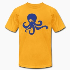 Gold octopus T-Shirts