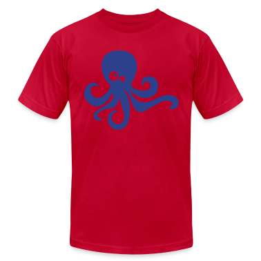 Red octopus T-Shirts