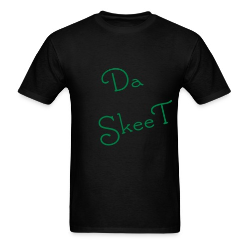 Da SkeeT Black Undershirt - Men's T-Shirt