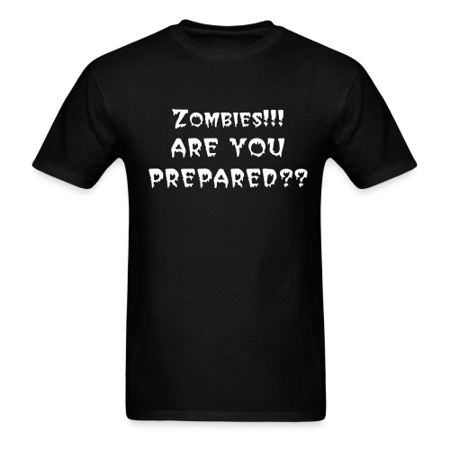 Are You Prepared - Men's T-Shirt