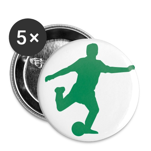 soccer buttons - Large Buttons