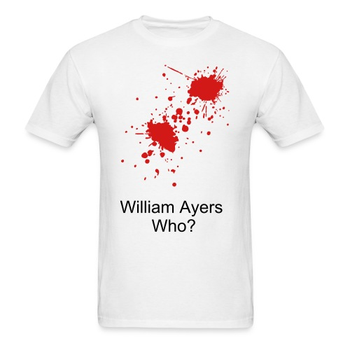 Williams Ayers who (blood) Men's - Men's T-Shirt