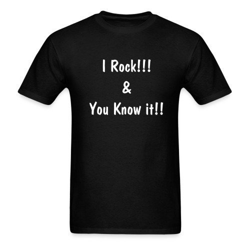 I Rock (MEN) - Men's T-Shirt