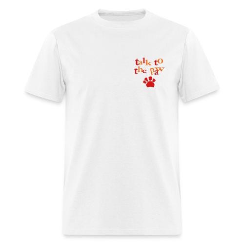 Men's T-Shirt : Paw talk - Men's T-Shirt