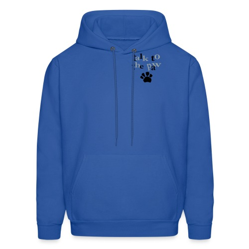Men's Hooded Sweatshirt : Paw talk - Men's Hoodie