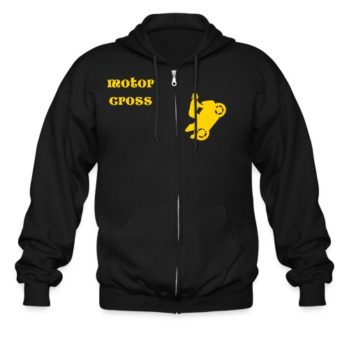 Motor Cross - Men's Zip Hoodie