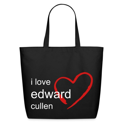 i love edward tote - Eco-Friendly Cotton Tote