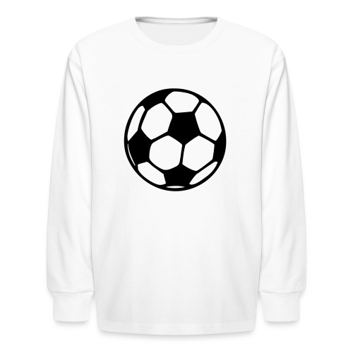 Soccer Ball Kids Long Sleeved Tee - Kids' Long Sleeve T-Shirt