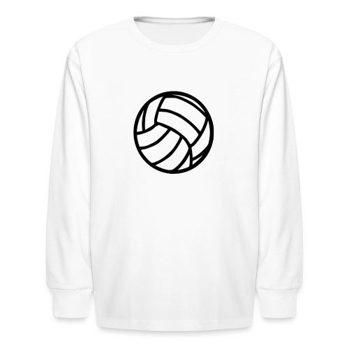 Volley Ball Kids Long Sleeved Tee - Kids' Long Sleeve T-Shirt