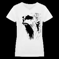 Women's T-Shirts ~ Women's V-Neck T-Shirt ~ Article 3588345
