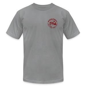red logo SS - Men's Fine Jersey T-Shirt