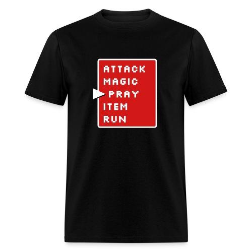 Prayer action screen - Men's T-Shirt