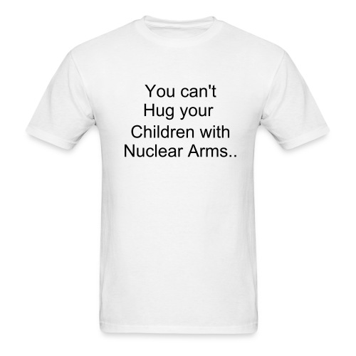 Nuclear Arms - Men's T-Shirt
