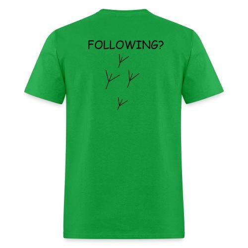 Following?  Men's Tee (Logo on Back) - Men's T-Shirt