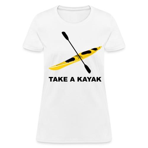 Take A Kayak - Women's - Women's T-Shirt