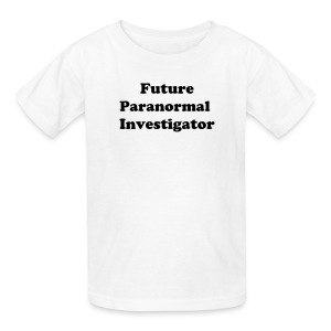 Kid's Tee (Future Investigator) - White - Kids' T-Shirt