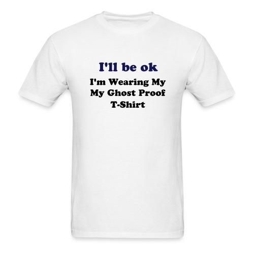 Men's Lightweight Tee (I'll Be ok...) - White - Men's T-Shirt