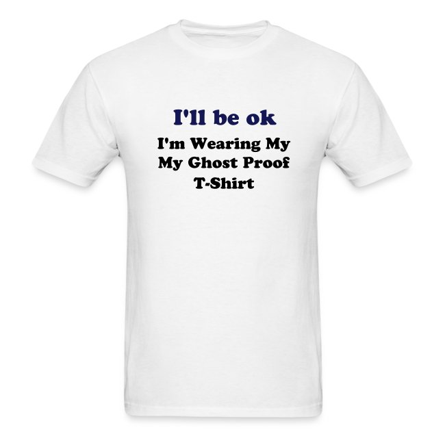 Men's Lightweight Tee (I'll Be ok...) - White