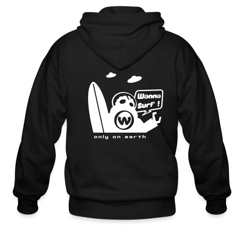spreadshirtalienv2 - Men's Zip Hoodie