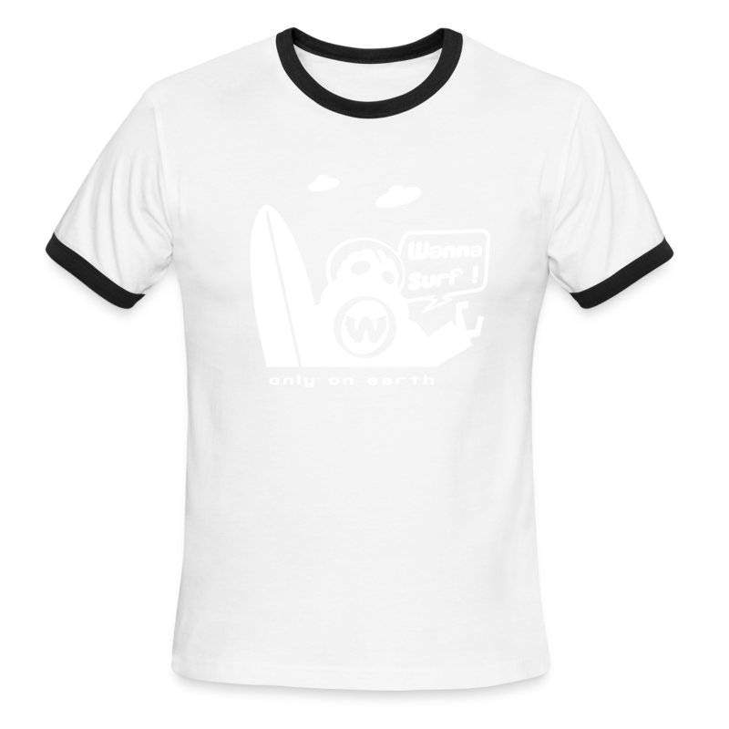 spreadshirtalienv2 - Men's Ringer T-Shirt