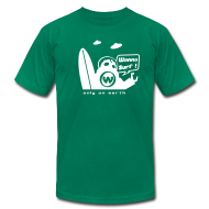 T-Shirts ~ Men's T-Shirt by American Apparel ~ Article 3596465