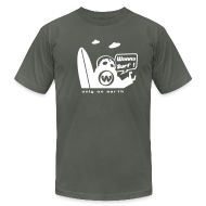 T-Shirts ~ Men's T-Shirt by American Apparel ~ Article 3596466