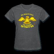 T-Shirts ~ Women's T-Shirt ~ DON'T MAKE ME RELEASE THE FLYING MONKEYS - Vintage