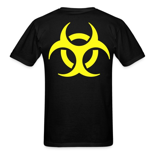 Hazard Back - Men's T-Shirt