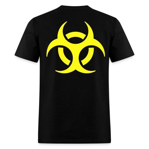 Hazard Back - Men's T-Shirt