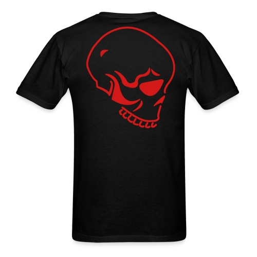 Skull Back - Men's T-Shirt