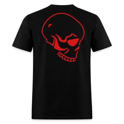 Skull Back - Men's T-Shirt