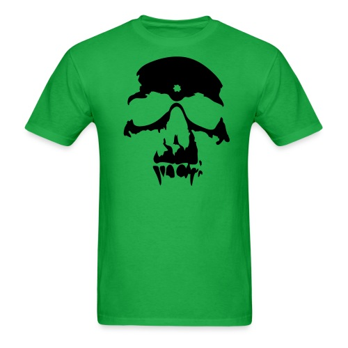 Green skull - Men's T-Shirt