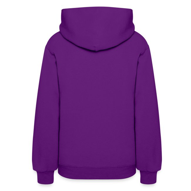 Womens Red Hooded Sweatshirt