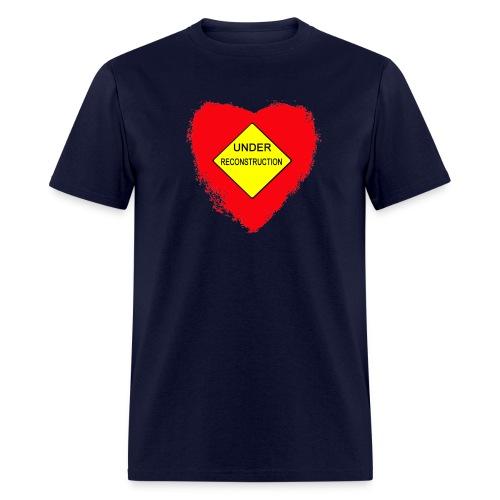 Heart Under Reconstruction Men's Lightweight Tee - Men's T-Shirt