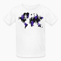 Argyle World Map Children's T-Shirt
