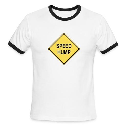Speed Hump - Men's Ringer T-Shirt