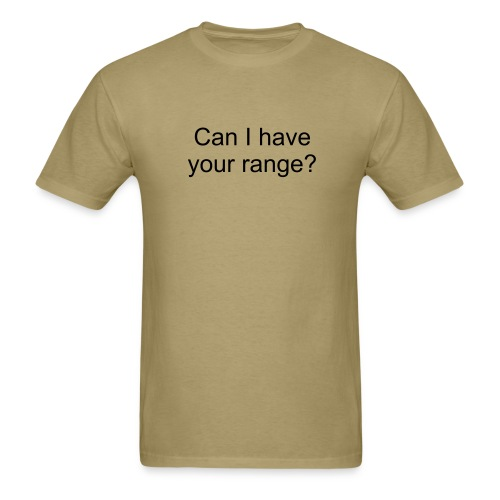 range - Men's T-Shirt