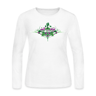 Long Sleeve Shirts ~ Women's Long Sleeve Jersey T-Shirt ~