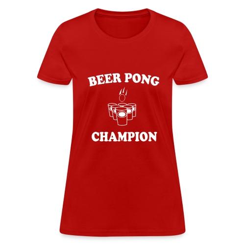 Beer Pong Tee - Women's T-Shirt