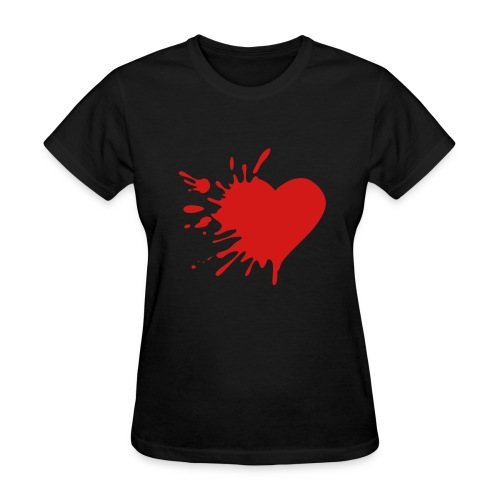 Exploding Heart Tee - Women's T-Shirt