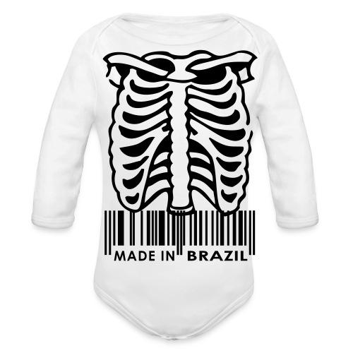 Skelitin - Organic Long Sleeve Baby Bodysuit