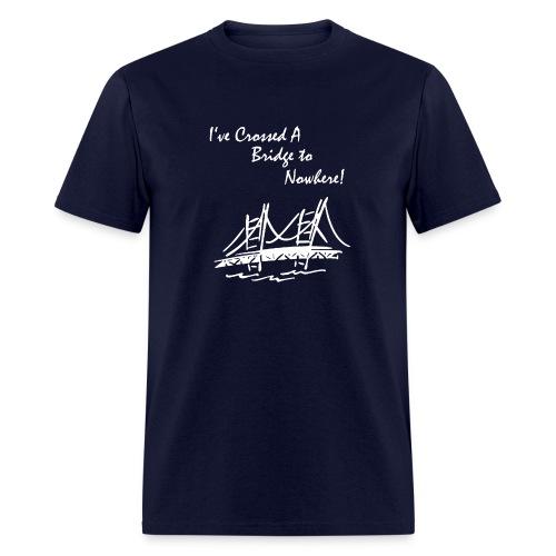 Bridge to Nowhere colored Men's tee - Men's T-Shirt