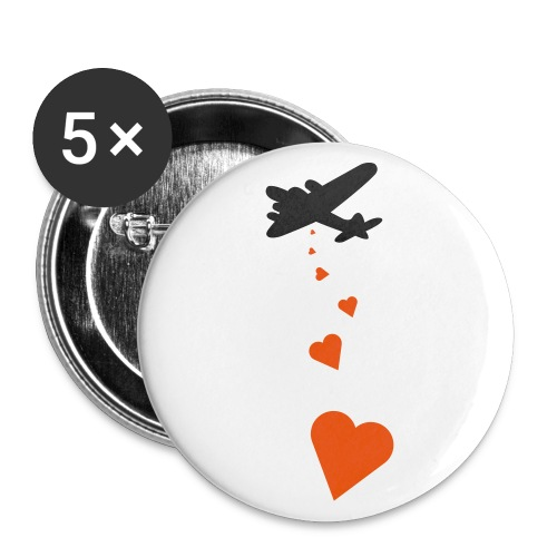Love bomb - Large Buttons