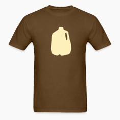 Brown milk jug T-Shirts (Short sleeve)